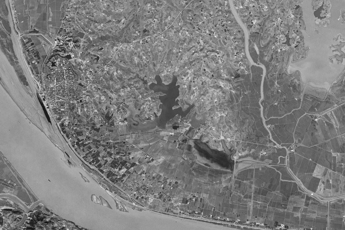 1970年的卫星图